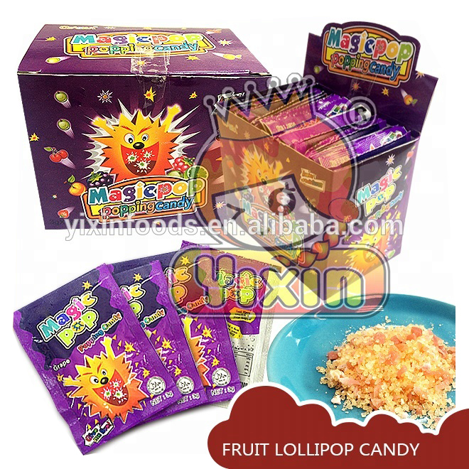 Halal magie pop popping candy fabrik