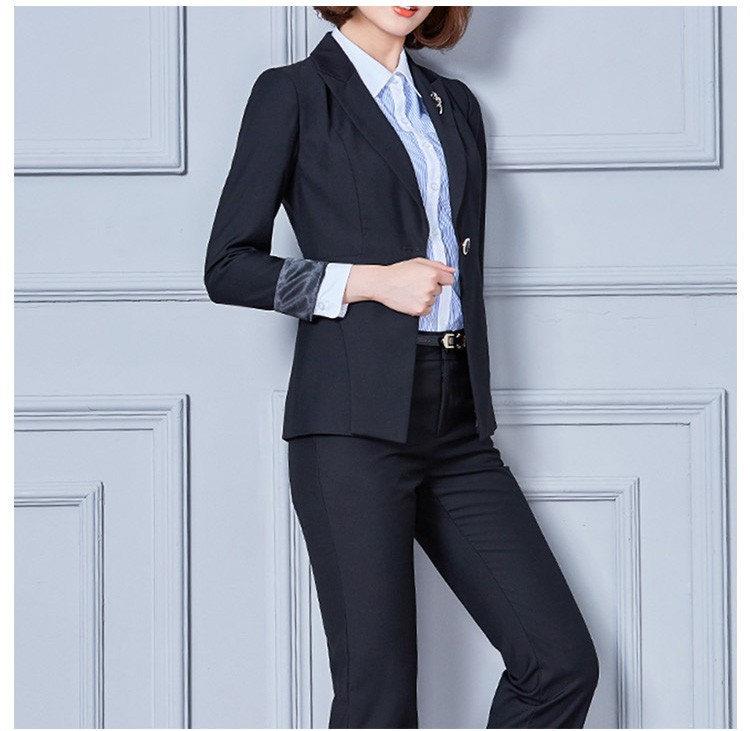 Design Latest Ladies Office Suits Womens Trouser Suits