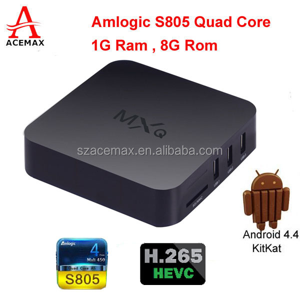 S805 Android Tv Box Multimedia Gateway Internet Tv Streaming Media Players  H 264 1080p Encoder H 265 1080p Decoder - Buy Tv Signal Decoder,S805 Tv