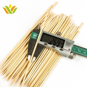 Round Bamboo Skewer Made In VietNam for BBQ