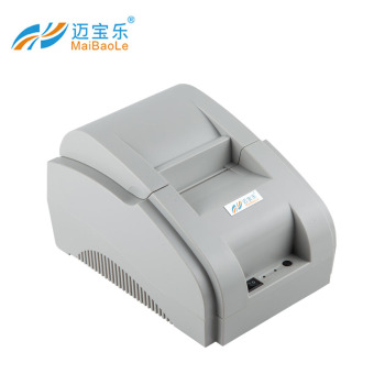 58mm mini portable thermal receipt printer with USB interface