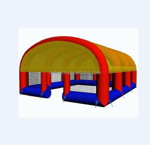 H2150 Commercial inflatable paintball tent , inflatable bunkers tent , outdoor paintball tent