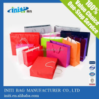 New Products 2015 Led Light Paper Bag With Printing