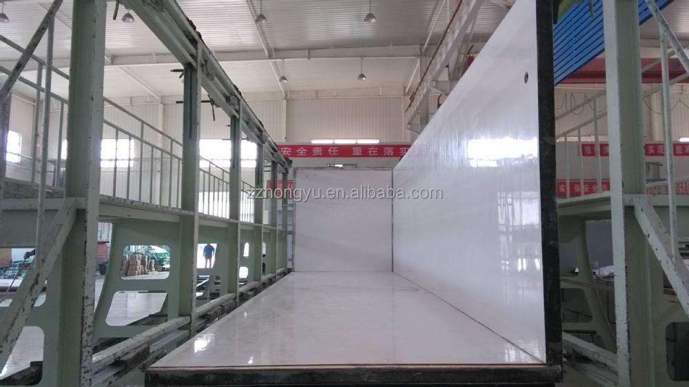 80mm Or 100mm Thickness Fiberglass Truck Panel Truck Body