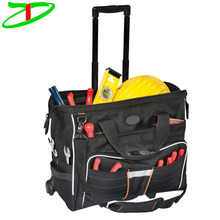 Line Top Roller N Rolling Trolley Tool Bag For Plumbers, 2017 Wholesale Durable Tool Bag With Wheels