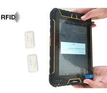 7 inch RAM 3GB handheld android terminal 1D/2D scanner ,rugged tablet pc ,android NFC/ UHF tablet
