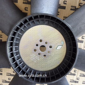 6CT8.3 Diesel engine part Fan Blade 3911326, Dongfeng auto engine cooling Fan