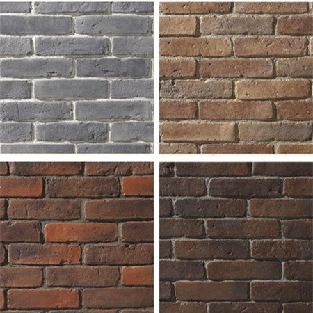 Canadian classical style artificial thin wall culture stone, wall decor bricks