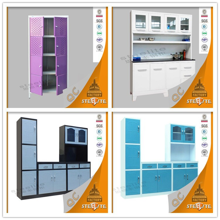 Hot Selling In Sri Lanka Kitchen Furniture Steel Pantry Cupboards