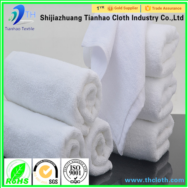 2016 china hot sale good quality 100% cotton towel fabric rolls