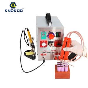 Battery Spot Welder 18650, KNOKOO 1.9kw LED Pulse 709A Battery Spot Welding Machine for 16430 14500 battery pack