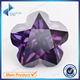 8mm irregular cut loose diamond flower shape cz