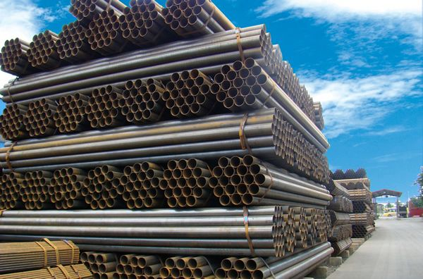 Hot sale DN200 BS1387 Hot dip galvanized carbon steel pipe
