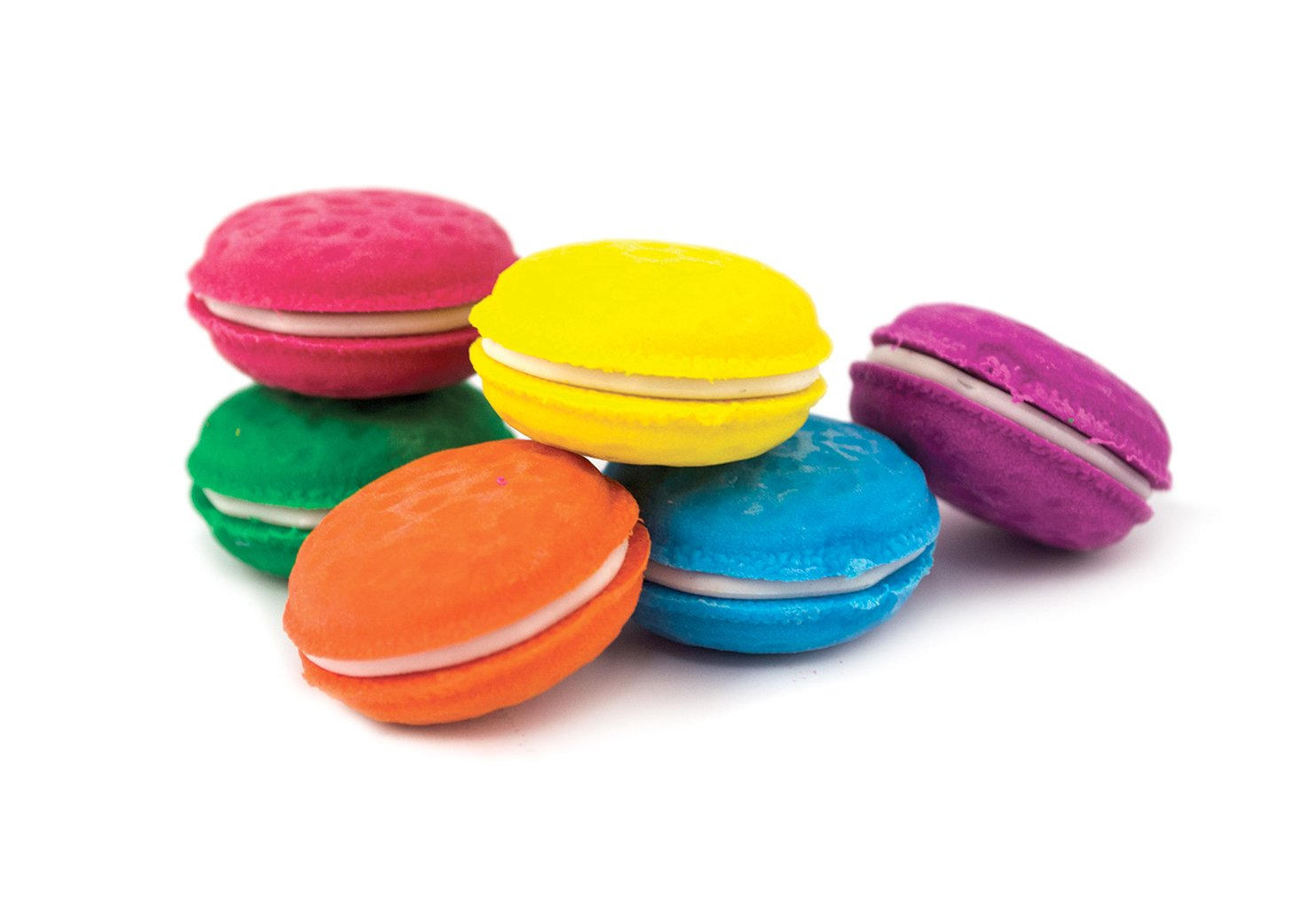 OOLY, Erasers, Macaron Scented, Set of 6 (112-052)