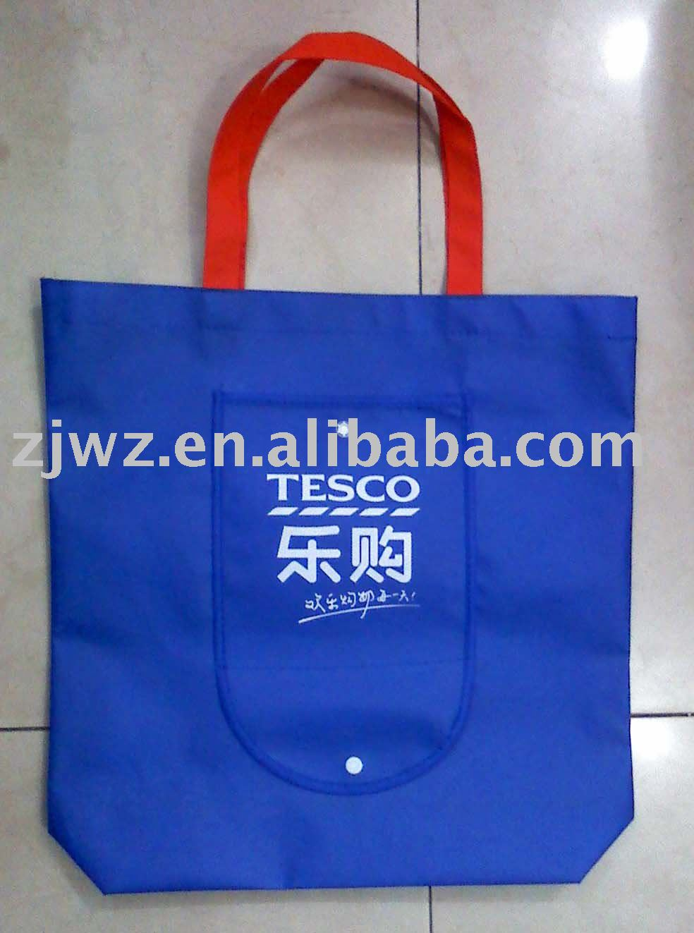 high quality non-woven foldable shopping bag