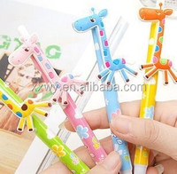 cartoon plasitc ballpoint pen for school/office/ laboratory