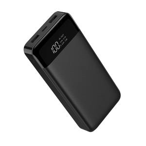TYPE- C Power Bank 20000mAh Dual USB Portable LCD Powerbank IQ External Battery Charger Pack for Mobile Phones
