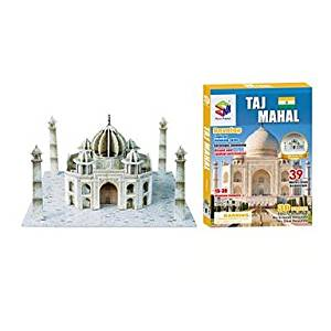 BuW 3D Puzzles The Taj Mahal India Model for Children and Adult Educational Toys(36PCS) ,creative toys of boys girls preschool education games & puzzles hobby