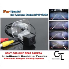 For Hyundai i25 / Accent Sedan 2010 ~ 2015 Parking Assistance Tracks Module Rear View Camera Car Camera HD CCD