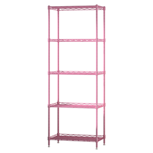 Heavy duty wire closet shelving Metal Space Saver Rack Shelf