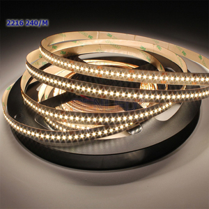 BenLed Supply High Cri 240 Leds Per Meter 24v DC High Bright 2216 Led Strip With CE ROHS Certification