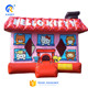 Beautiful hello kitty inflatable bouncer,outdoor inflatable bounce house, kids inflatable jumping castle for sale
