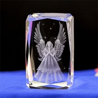New arrival 3d christian crystal cubes gifts