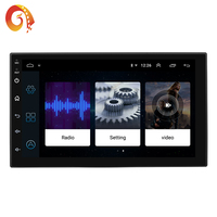 Hot sales universal Android 8.1 black 7 inch touch screen 7168C Built-in GPS Navigation System car dvd radio