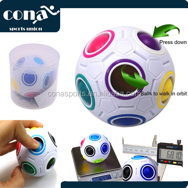 2017 New Hot Sale Fidget Twist Ball Relieves Stress And Anxiety Magic Cube Ball for Children and Adults Anxiety Attention Toy