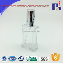 Junfeng 50ml Custom cheap cosmetic glass bottle