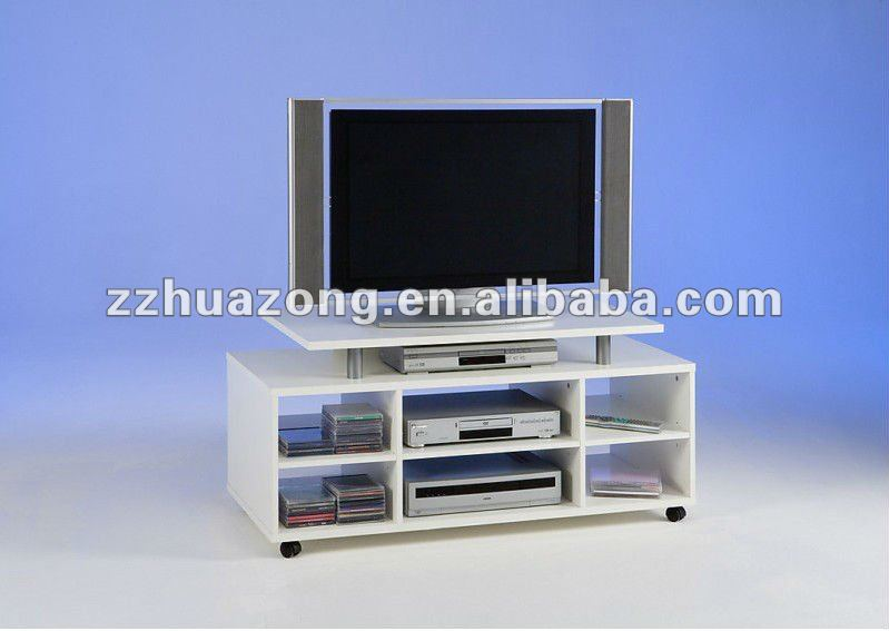 4 Tier - 6 Compartments MDF TV Stand