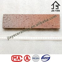 Thin Veneer Brick Color Changed Clay Wall Decor Tiles
