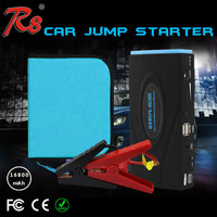 R8 Factory Manufacture Portable Mini Car Jump Starter Power Bank Battery 16800mAh 12/24V Gasoline and Diesel Multi-functional