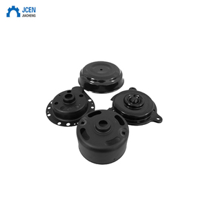 aluminum die casting industrial parts with electroplating / black anodized aluminum cnc machining