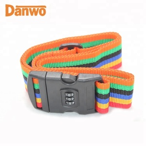 Custom New product adjustable Luggage Strap belt with your logo