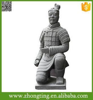 Oriental Decor Terracotta Warriors Replica Chinese Warrior Terra Cotta  Garden Landscape Sculpture