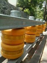 Factory price Highway road safety roller barrier Guardrail