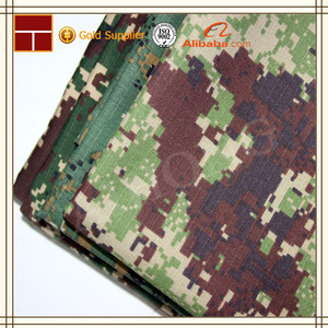 polyester cotton mexico camouflage military fabric