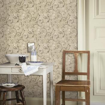 High Quality Classic Sitting Living Meeting Room Wallpaper Designs