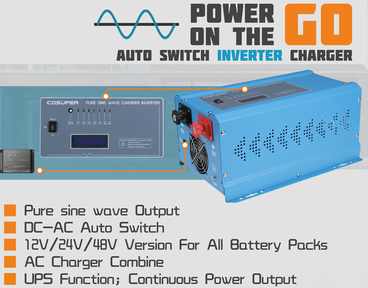 cheap 12 volt dc to ac 2000 watt inverter 12v-220v
