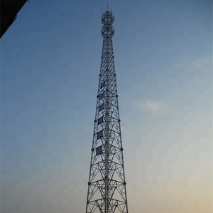 Chinese Manufacturer Four Legged Telecommunication Tower Angular Tower Lattice Tower