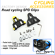 Road bicycle shoes accessories SPD Cleats Track SPD system Road cycling shoes SPD clips