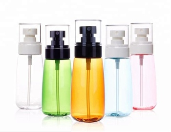 China supplier PETG plastic spray bottle lotion bottle with mist sprayer