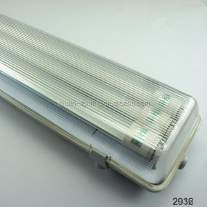 water proof dust proof anti-corrosion led batten light 20w 30w 40w 50w 60w 70w fluorescent lamp batten type