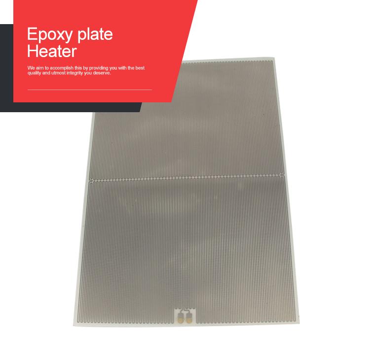 New Energy Battery Pack epoxy resin heating plate for 3D printer heating/vav heating schemes