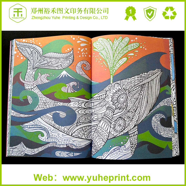wholesale top model coloring books with glossy lamination thick paper direct factory price - Wholesale Coloring Books