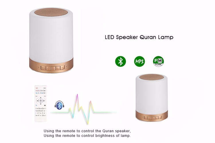Equantu SQ112 tilawat quran Lettore mp3 LED Quran Altoparlante
