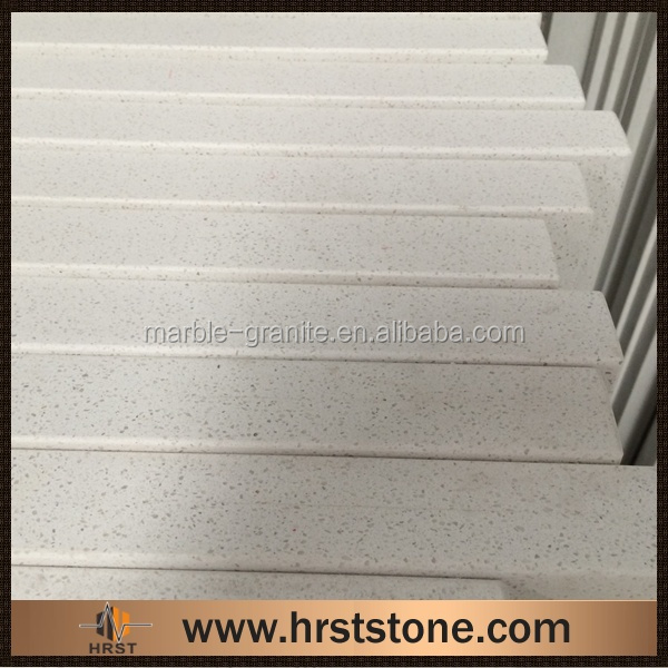 Laminated man made lowes quartz countertop
