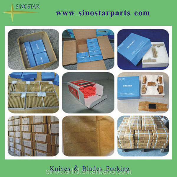 packaging cutting machine serrated sealing blade