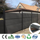 Waterproof Home Easy DIY Installation WPC Composite Fence Cheap Garden Fencing
